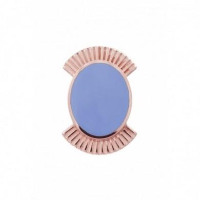 Clip pour bracelet Les Georgettes bleu.